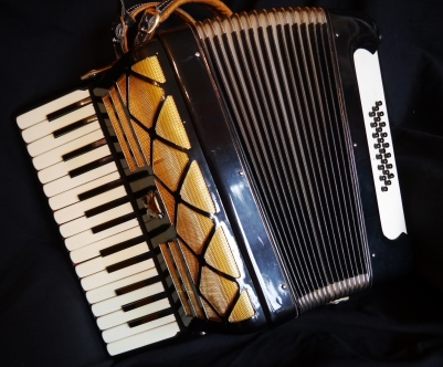 parrot compact piano accordion 30 key jolly roger accordions. Black Bedroom Furniture Sets. Home Design Ideas